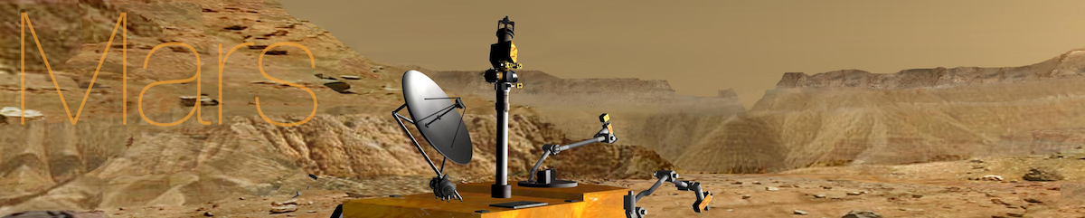 Mars_Science_Laboratory_near_a_canyon_on_Mars_(artist's_rendition) 1200x241-72 annotated