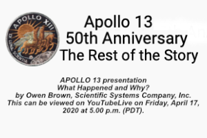 Apollo 13 What Happened? NASA Live Stream