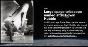 Hubble Telescope Builder – Bill Johnston