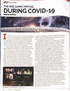 SacL5's work praised again in NSS Ad Astra!