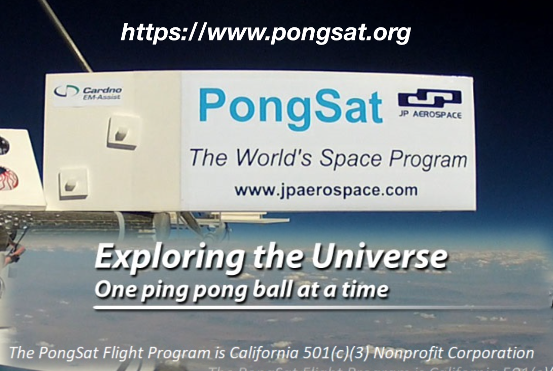 Pongsat – Help Students Experiment in Space