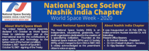 NSS India World Space Week In Progress!