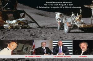 Apollo 15 Breakfast on the Moon Aug 7, 2021