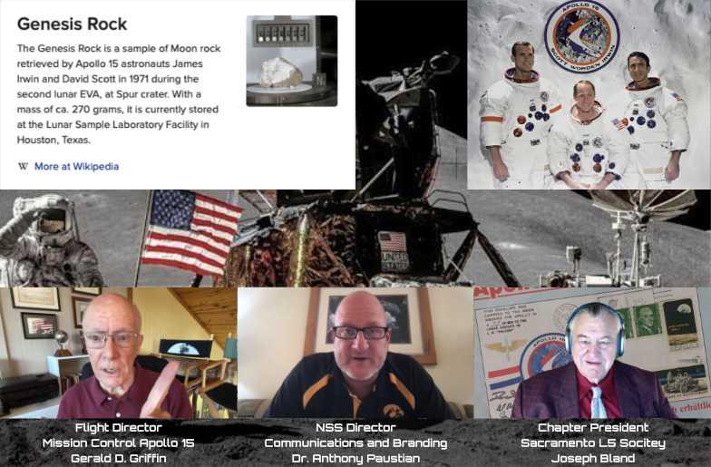 Apollo 15 Video Breakfast on the Moon